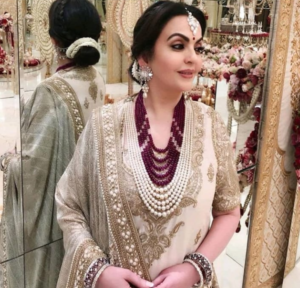 Nita Ambani's latest wedding look will inspire you