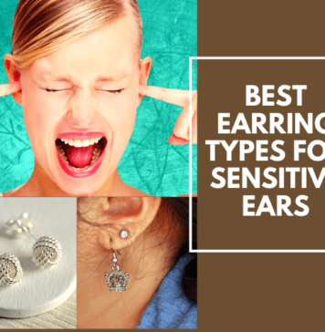 Best Earring Types For Sensitive Ears