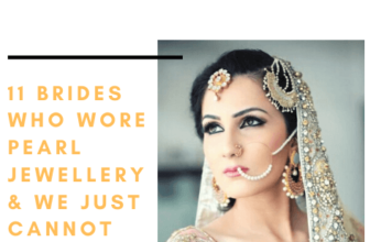11 Brides Who Wore Pearl Jewellery& We Just Cannot Take Our Eyes Off
