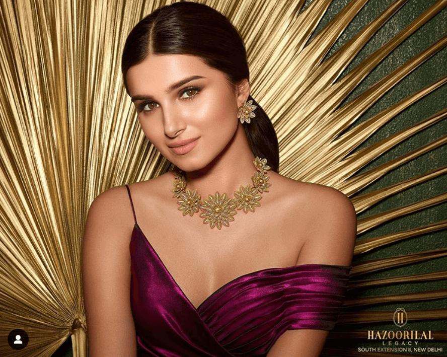 Tara Sutaria Stuns Magically In Hazoorilal Jewellery Designs