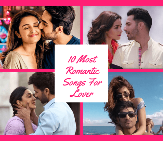 10 Most Romantic Songs For Lover