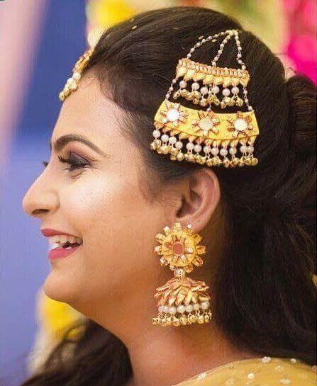 Gota Patti Head Jewellery