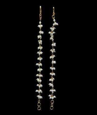 Goa traditional jewellery-vel earrings