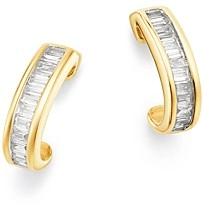 half hoop earrings design