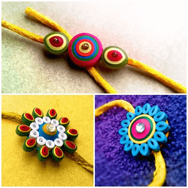 how make rakhi at home