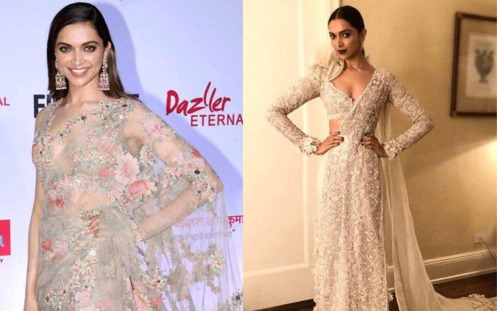 Deepika Padukone sarees,