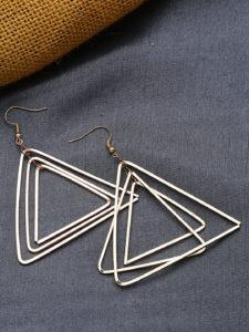 5 Hottest picks from 9 to 5 Office Wear Jewellery: geometrical earrings