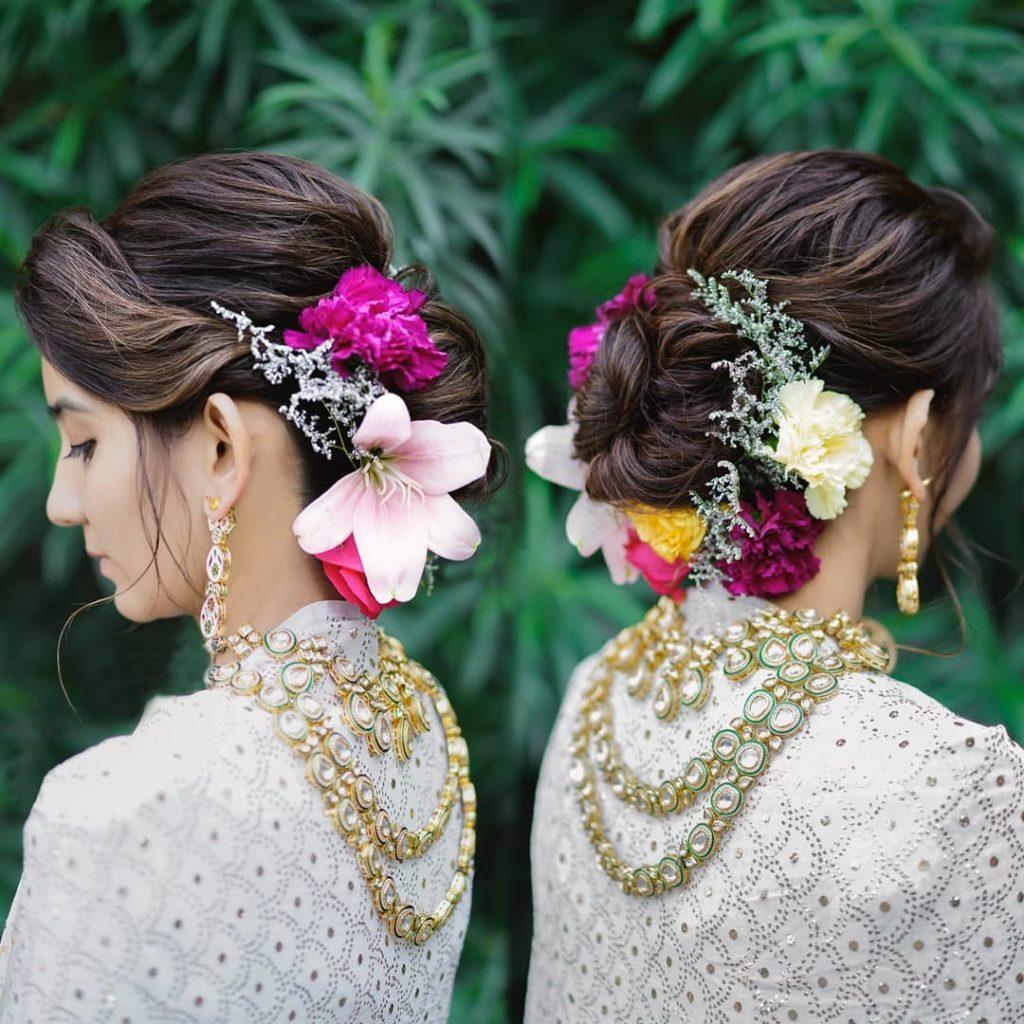 hair accessories for mehandi