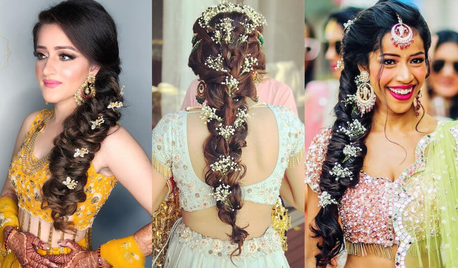 flower hairstyle for girls