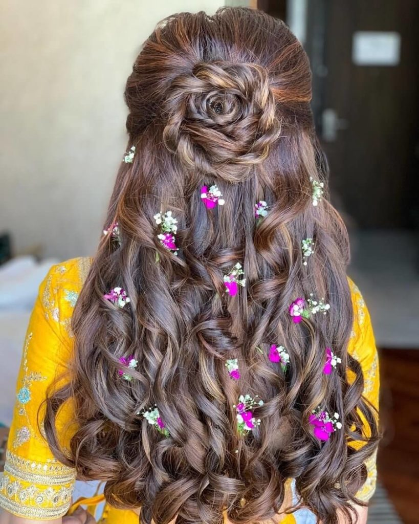19 Hairstyle For Girls For Wedding Bridal Hairstyle