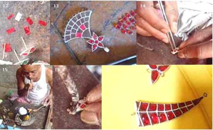Making of Traditional Jewellery of Assam