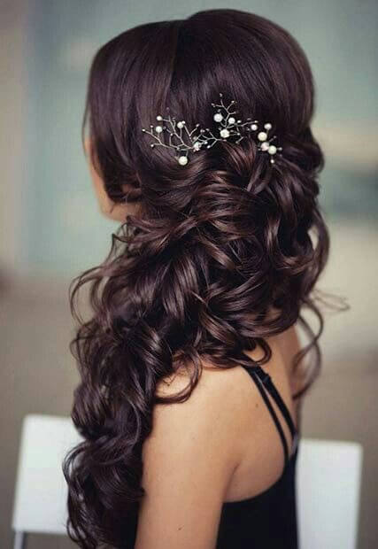 hairstyle for girls for wedding