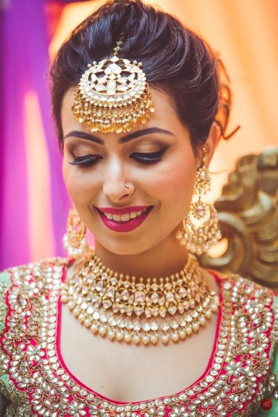 The Complete Guide: How To Pick Bridal Jewellery For Your Lehenga 4