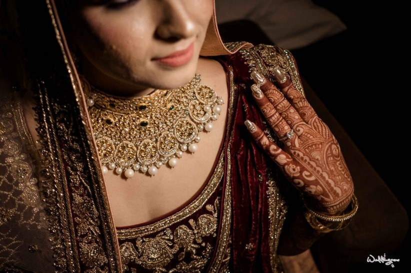 The Complete Guide: How To Pick Bridal Jewellery For Your Lehenga 7