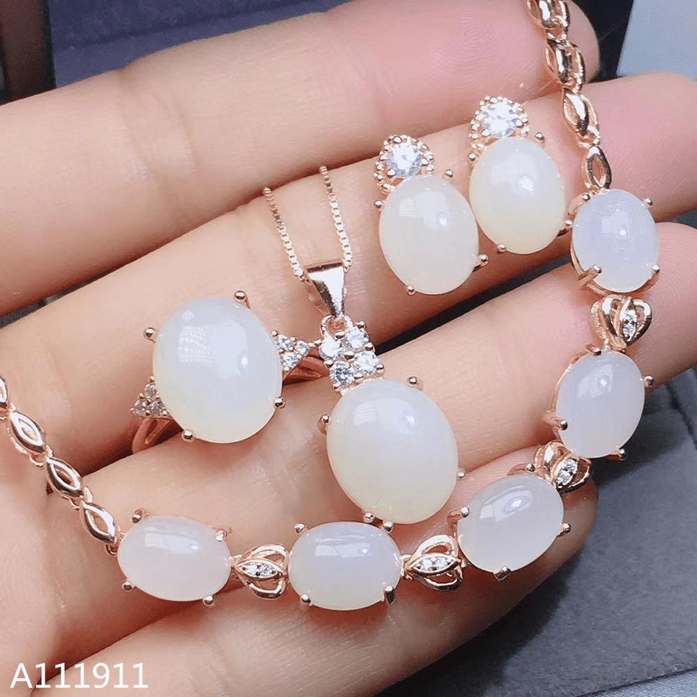 White Jewelry Jade