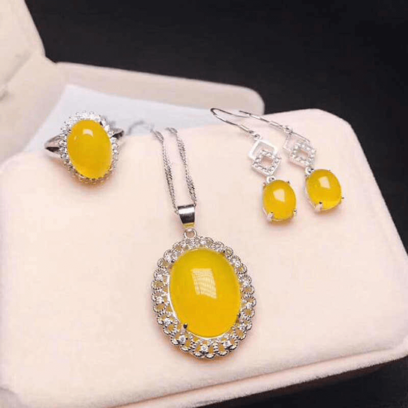 Yellow Jewelry Jade
