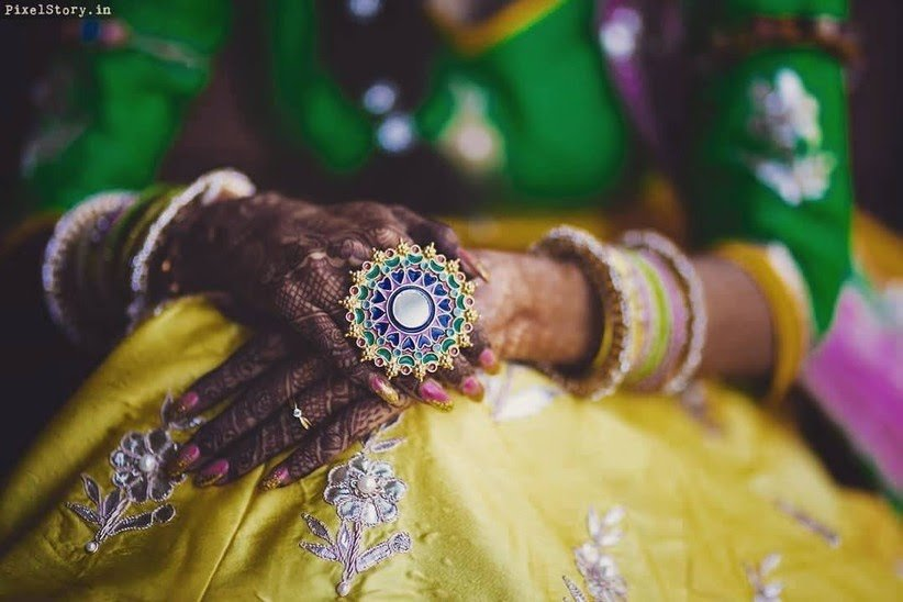Gorgeous Bridal Mehndi Designs That We Spotted On Real Brides 1