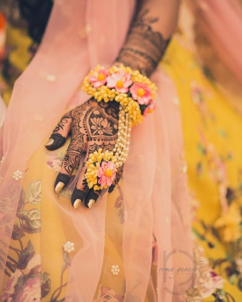 Gorgeous Bridal Mehndi Designs That We Spotted On Real Brides 2