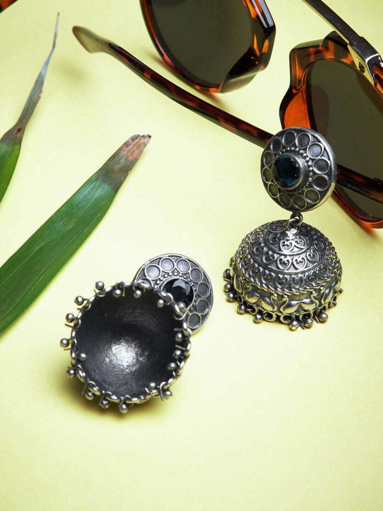Jhumka Earrings By GloBox By ZeroKaata: A Myntra Exclusive Brand