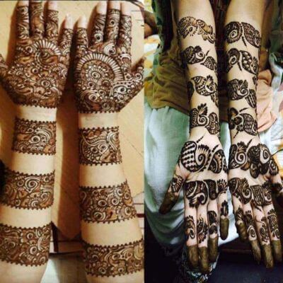 "12 Gorgeous Tattoo Mehndi Designs For ""The Bride"" & Bridesmaids 4"