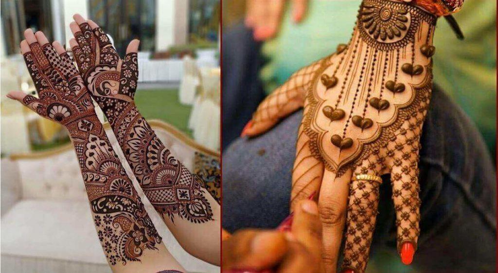 "12 Gorgeous Tattoo Mehndi Designs For ""The Bride"" & Bridesmaids 6"