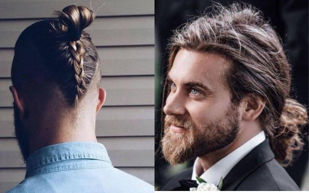 Mens Hairstyle Long Hair Men S Long Haircut