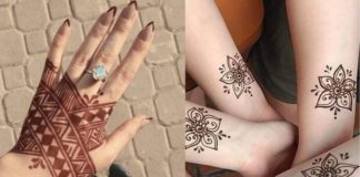 12 Gorgeous Tattoo Mehndi Designs For Modern Brides