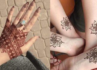 12 Gorgeous Tattoo Mehndi Designs For Modern Brides