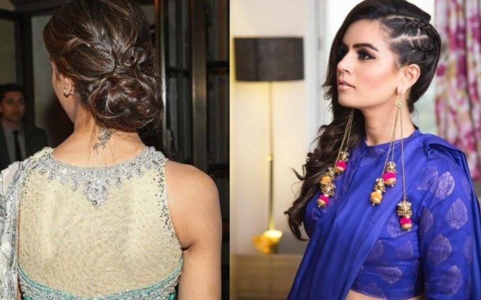 The Complete Guide How To Pick A Perfect Hairstyle With Saree Zerokaata Studio