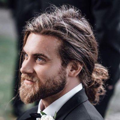 Ponytail men hairstyles