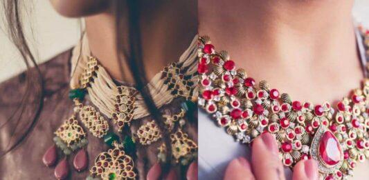 Top 15 Neck Jewellery Styles Tor The 2021 Bride