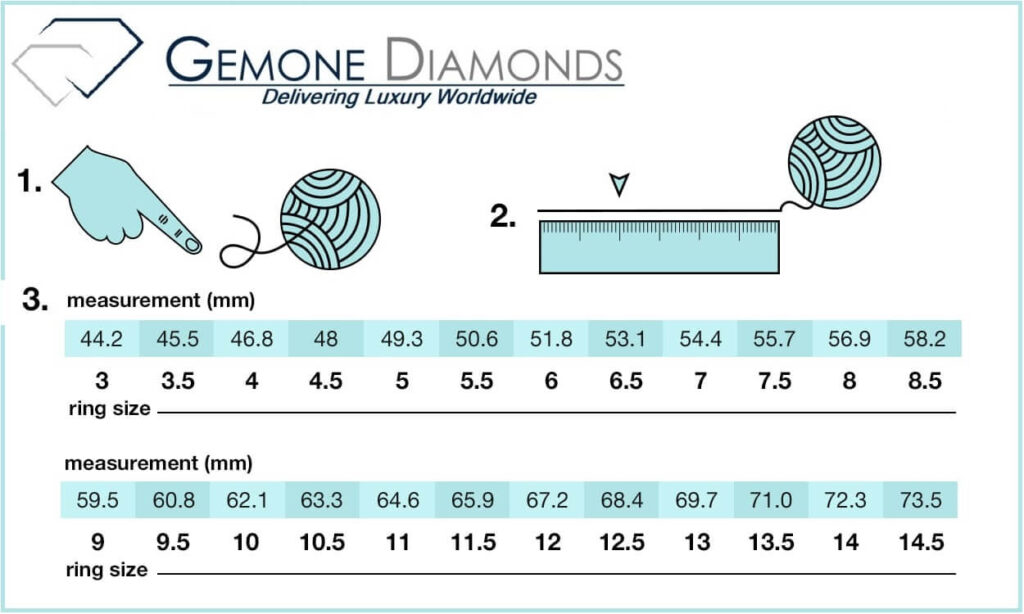 How To Measure Your Engagement Ring Size Online?